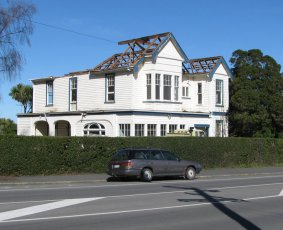 House at 556 Highgate, Maori Hill, demolished 2010