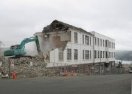 Marlow and Patrick buildings, former King Edward Technical College, Tennyson Street, demolished 2011