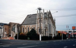 St Stephen's Presbyterian Church, Great King and Howe streets, demolished 1998