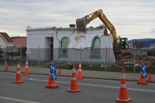 Girl Guides' Hall (former Oddfellows' Hall), Gordon Road, Mosgiel, demolished 2013