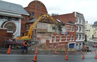 Speight's sales office building, demolished 2012