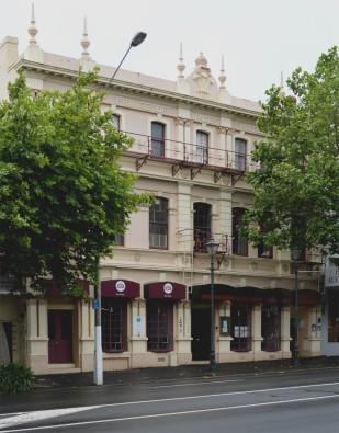 Prince of Wales Hotel, Princes Street, Dunedin.