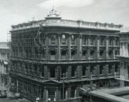 AMP Building, Princes and Dowling streets, demolished 1969. Alan Pritchard photo.