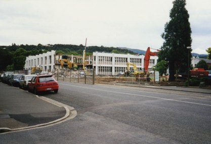 Central Library, University of Otago, January 1999. Some of the structure was retained.