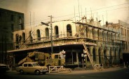 Former Gillies & Street building, Princes and Dowling streets, 1968