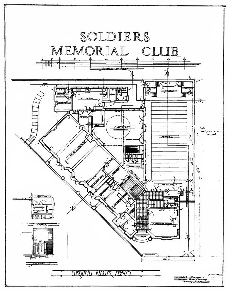 1920s built in dunedin 1920 Men Names the original ground floor plan