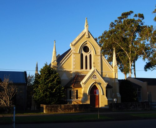 Cherrybrook Uniting Church (1889). Photo by Peter Liebeskind.