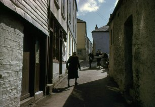Mevagissey, Cornwall. Hardwicke Knight photographer.