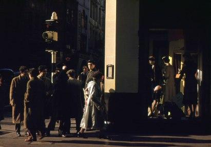 Wardour Street, London. Hardwicke Knight photographer.