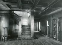 Entrance hall. C.M. Collins photographer.