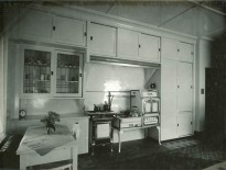 The kitchen. C.M. Collins photographer.
